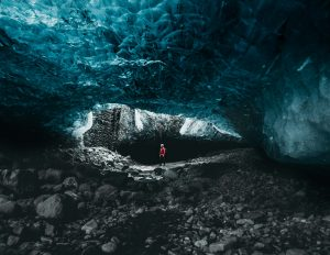 Entry to Sapphire Ice Cave